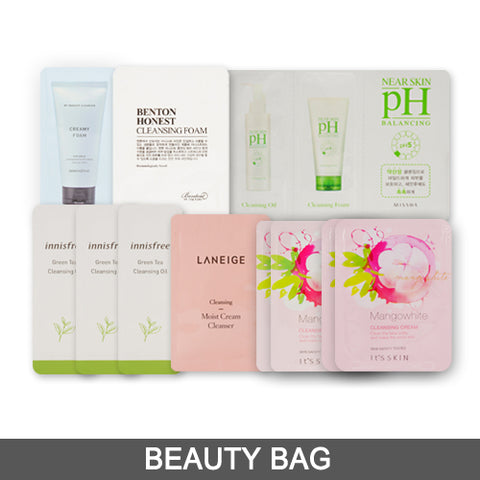 [Beauty Bag] Cleanser Samples (12PCS)