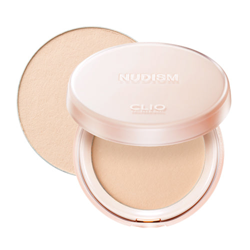 [Clio] Nudism Moist Fit Powder Pact 10g