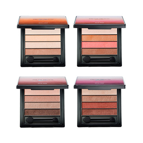 [Clio] Pro Eye Palette Quad 1.4g x 4 - Cosmetic Love