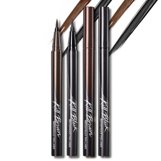 [Clio] Waterproof Pen Liner Kill Black 0.55ml