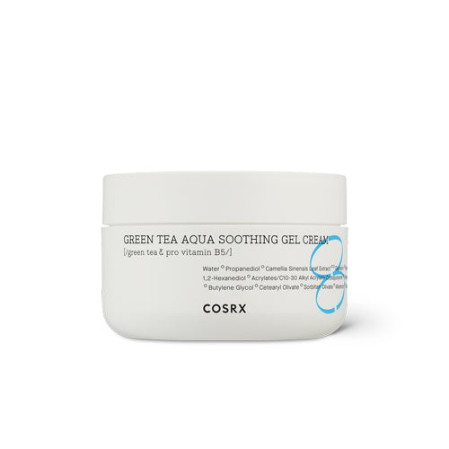 [Cosrx] Hydrium Greentea Aqua Soothing Gel Cream 50ml