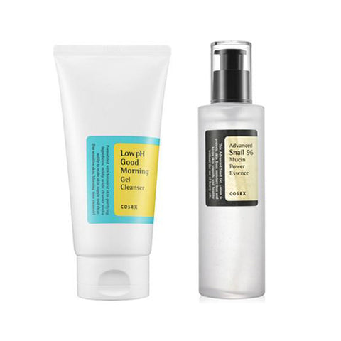 [Cosrx] OIL-FREE Ultra Moisturizing Lotion 100ml + Low Ph Good Morning Gel Cleanser 135ml