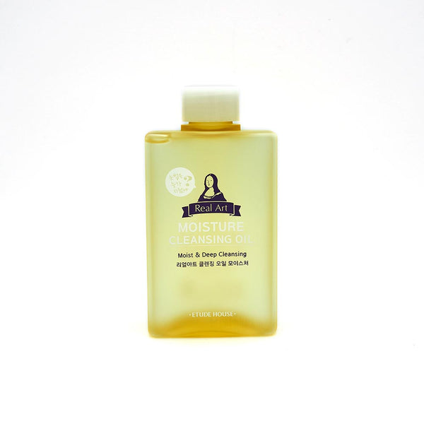 [Etude House] Real Art Cleansing Oil Moisture 185ml - Cosmetic Love