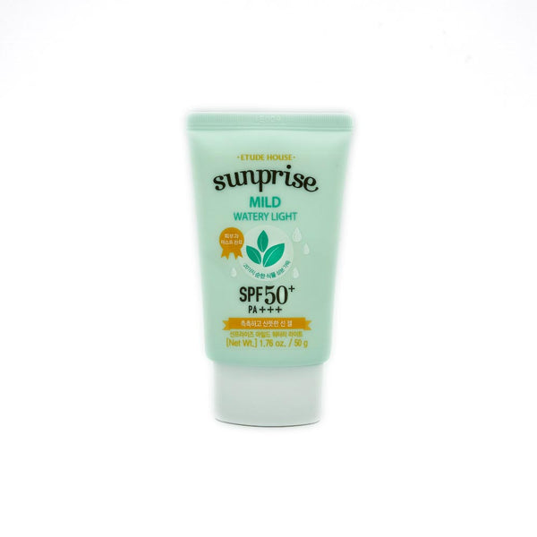 [Etude House] Sunprise Mild Watery Light SPF50+ PA+++ 50g - Cosmetic Love