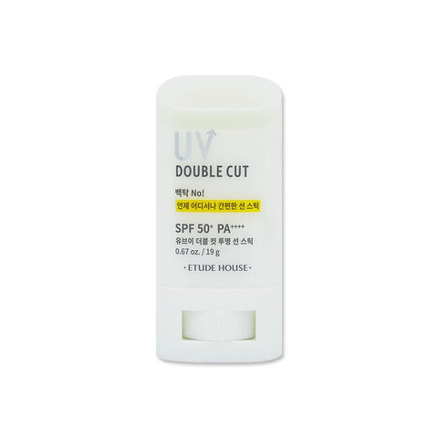 [Etude House] UV Double Cut Clear Sun Stick SPF5+ PA+++ 20g