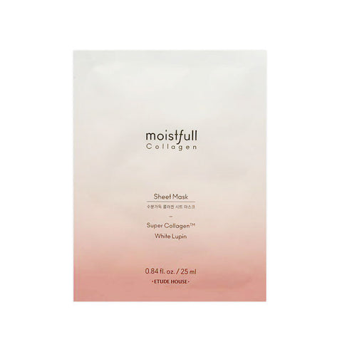 [Etude House] Moistfull Collagen Sheet Mask 25ml