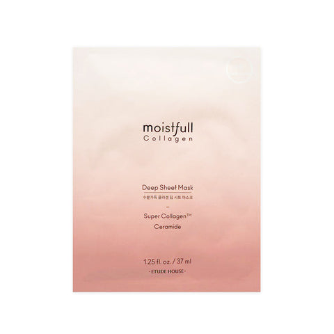 [Etude House] Moistfull Collagen Deep Sheet Mask 25ml