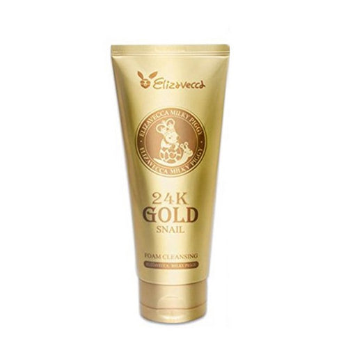 [Elizavecca] 24k gold snail Cleansing Foam 180ml