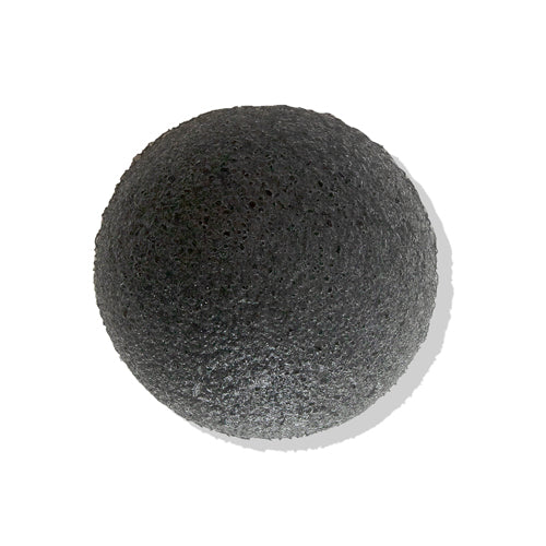 [Eonnii] Natural Konjac Soft Cleansing Puff No.Charcoal 1pcs