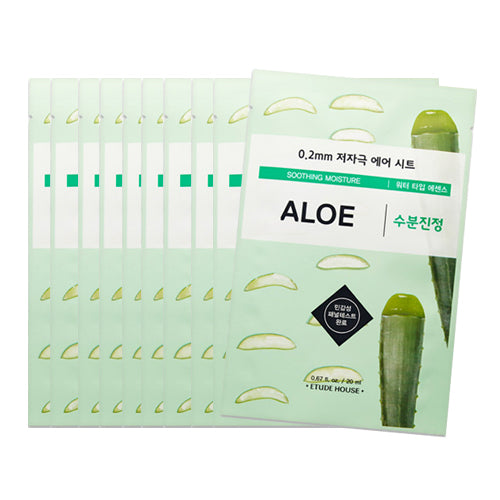 [Etude House] 0.2 Therapy Air Mask #01 Aloe x 10PCS