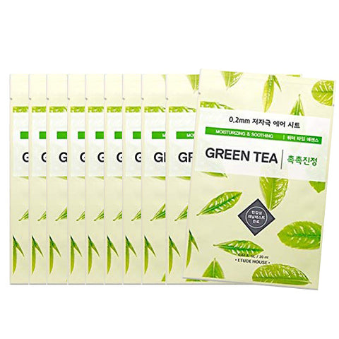 [Etude House] 0.2 Therapy Air Mask #03 Green Tea x 10pcs