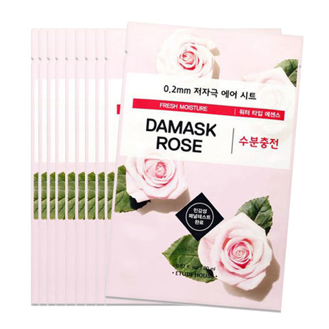 [Etude House] 0.2 Therapy Air Mask #09 Damask Rose x 10pcs