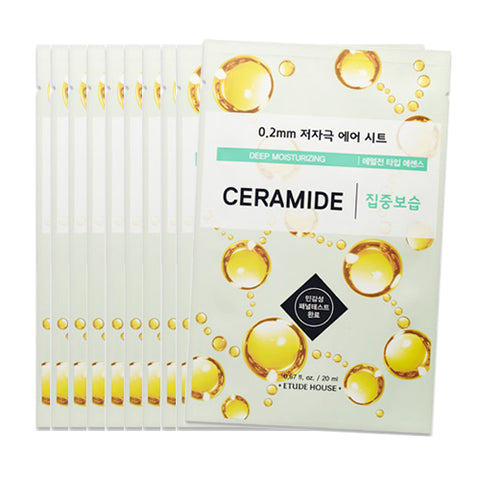 [Etude House] 0.2 Therapy Air Mask #15 Ceramide x 10pcs