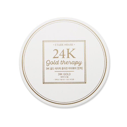 [Etude House] 24K gold Therapy Collagen Eye Patch (Firming) 1.4g x 60 Sheet - Cosmetic Love