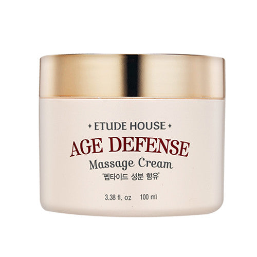 [Etude House] Age Defense Essential Massage Cream 100ml - Cosmetic Love