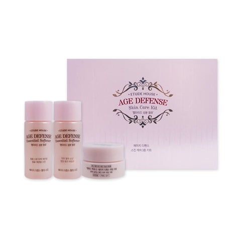 [Etude House] Age Defense Skin Care Kit (3 Items) - Cosmetic Love