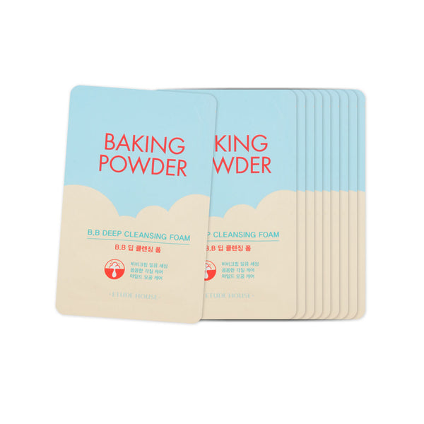 [Sample] [Etude House] Baking Powder B.B Deep Cleansing Foam x 10PCS