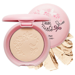 [Etude House] Dear Girls Be Clear Pact - Cosmetic Love
