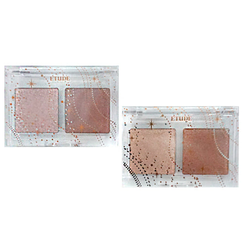 [Etude House] Glittery Snow Air Mousse Palette 1.5g x 2