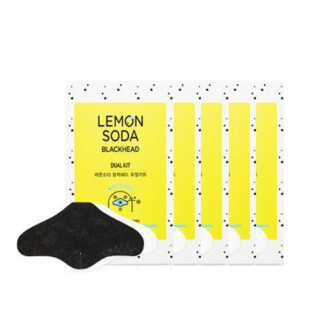 [Etude House] Lemon Soda Blackhead Dual Kit x 5PCS - Cosmetic Love