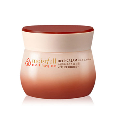 [Etude House] Moistfull  Collagen Deep Cream 75ml - Cosmetic Love