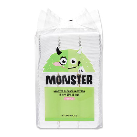 [Etude House] Monster Cleansing Cotton 408pcs