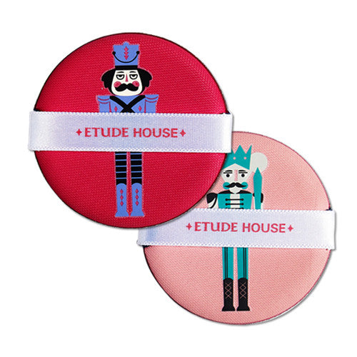 [Etude House] My Little Nut My Beauty Tool Slim Air Puff Set - Cosmetic Love