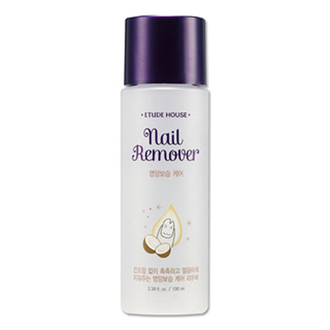[Etude House] Nail Remover- Nutrition&Moisture Care 100ml - Cosmetic Love