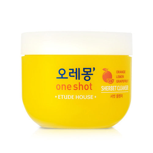 [Etude House] O-LE-MONG One Shot Sherbet Cleanser - Cosmetic Love