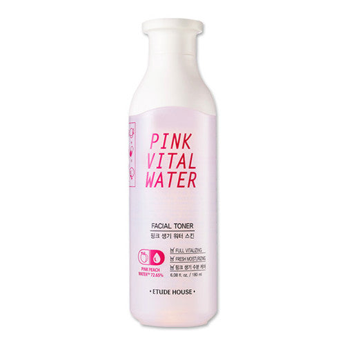 [Etude House] Pink Vital Water Facial Toner - Cosmetic Love