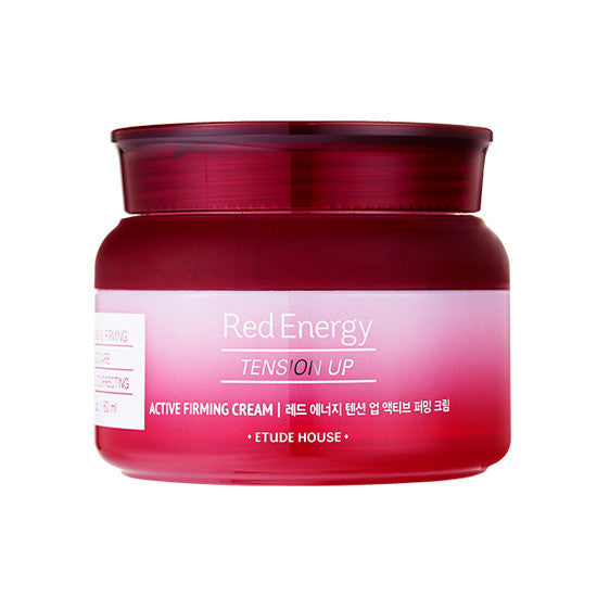 [Etude House] Red Energy Tension Up Active Firming Cream 60ml - Cosmetic Love