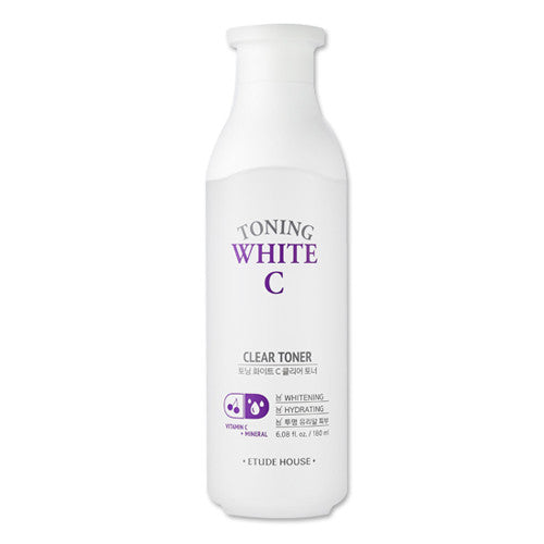 [Etude House] Toning White C Clear Toner - Cosmetic Love