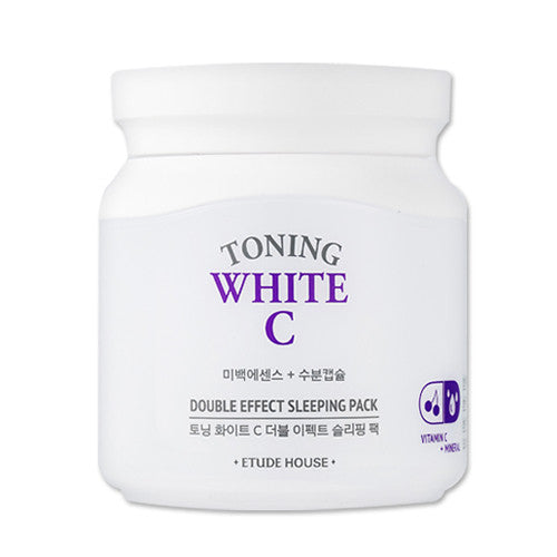 [Etude House] Toning White C Double Effect Sleeping Pack - Cosmetic Love