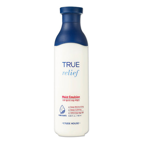 [Etude House] True Relief Moist Emulsion 180ml - Cosmetic Love