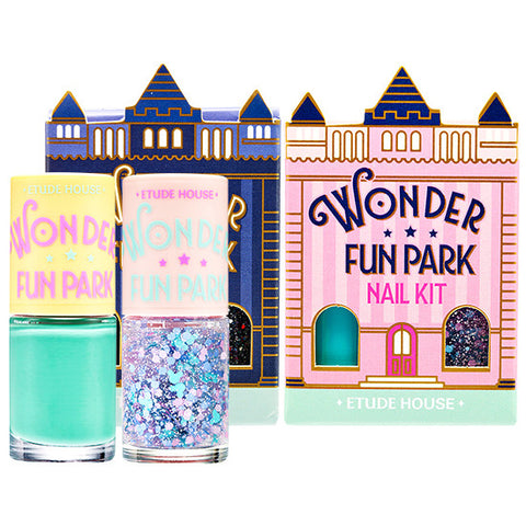 [Etude House] Wonder Fun Park Nail Kit - Cosmetic Love