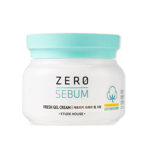 [Etude House] Zero Sebum Fresh Gel Cream - Cosmetic Love
