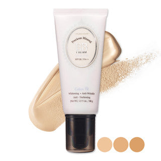 [Etude House] Precious Mineral BB Cream Cotton Fit 60g - Cosmetic Love