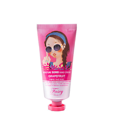 [Fascy] Moisture Bomb Hand Cream Grape Fruit 80ml - Cosmetic Love