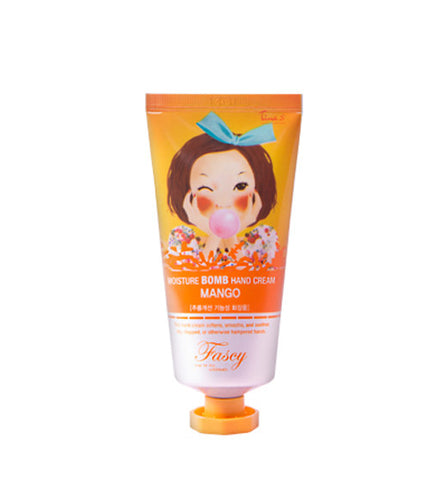 [Fascy] Moisture Bomb Hand Cream Mango 80ml - Cosmetic Love