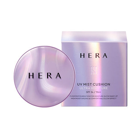 [Hera] UV Mist Cushion Ultra Moisture 15g+15g(Refill)