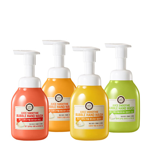 [Happy Bath] Juice Smoothie Bubble Hand Wash 250ml