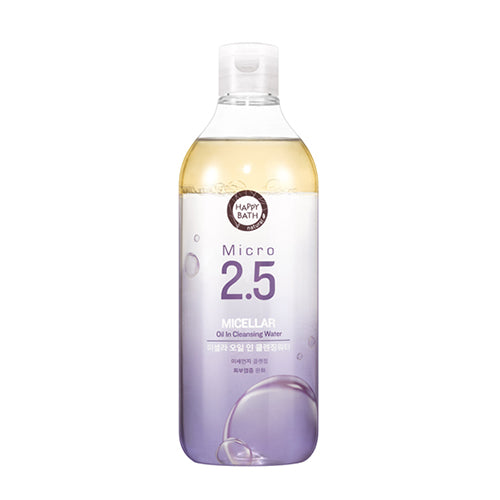 [Happy Bath] Micro 2.5 Micellar Oil In Cleansing Water 400ml