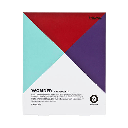 [Haruharu] Wonder Mask Starter Kit 25g x 4ea