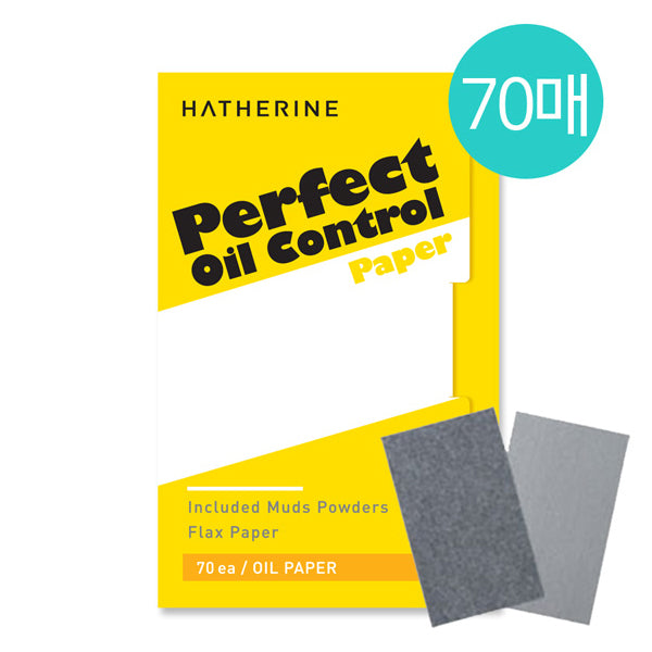 [Hatherine] Perfect Oil Control Paper 60 Sheets