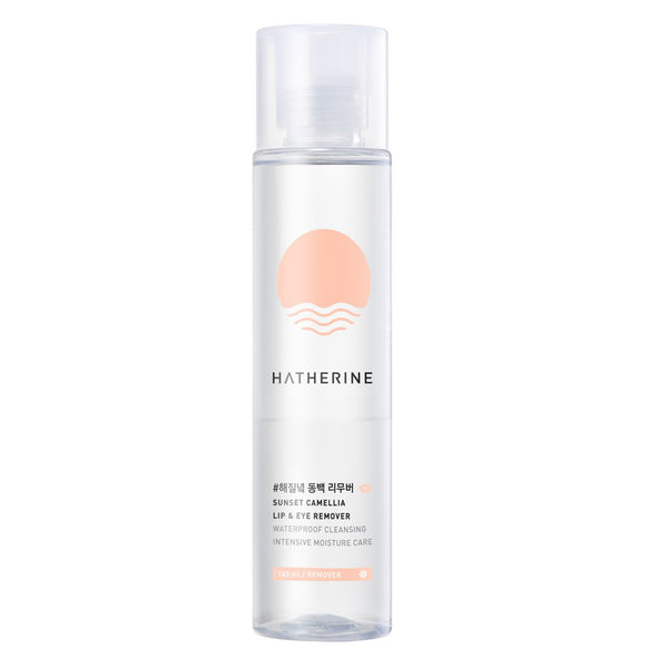 [Hatherine] Sunset Camellia Lip & Eye Remover 145ml
