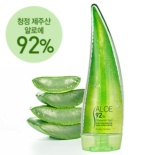 [Holika Holika] Aloe 92% Shower Gel 250ml - Cosmetic Love