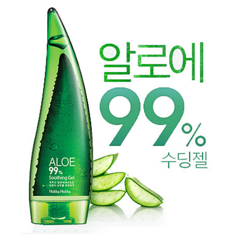 [Holika Holika] Aloe 99% Soothing Gel 55ml - Cosmetic Love