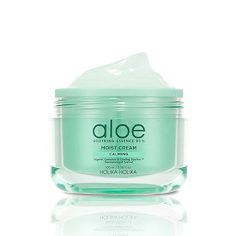 [Holika Holika] Aloe Soothing Essence 80% Moist Cream 100ml