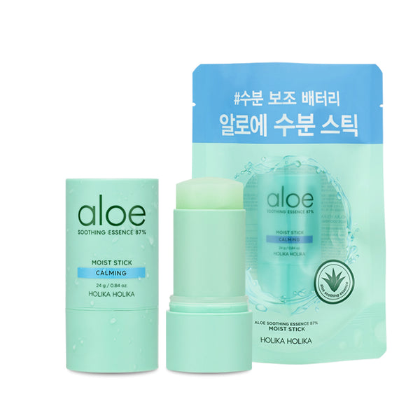 [Holika Holika] Aloe Soothing Essence 87% Moist Stick 24g