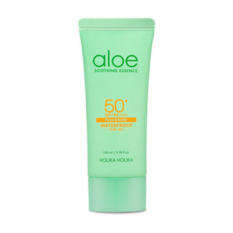 [Holika Holika] Aloe Waterproof Sun Gel SPF50+ PA++++ 100ml